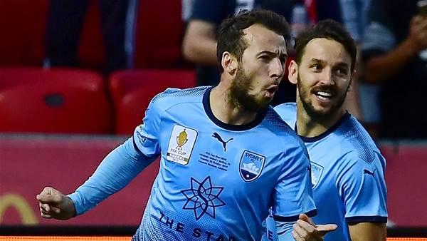 No 'disrespect' warns Sydney A-League star, despite Adelaide's huge challenge