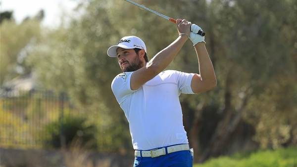 Peter Uihlein leading in Las Vegas