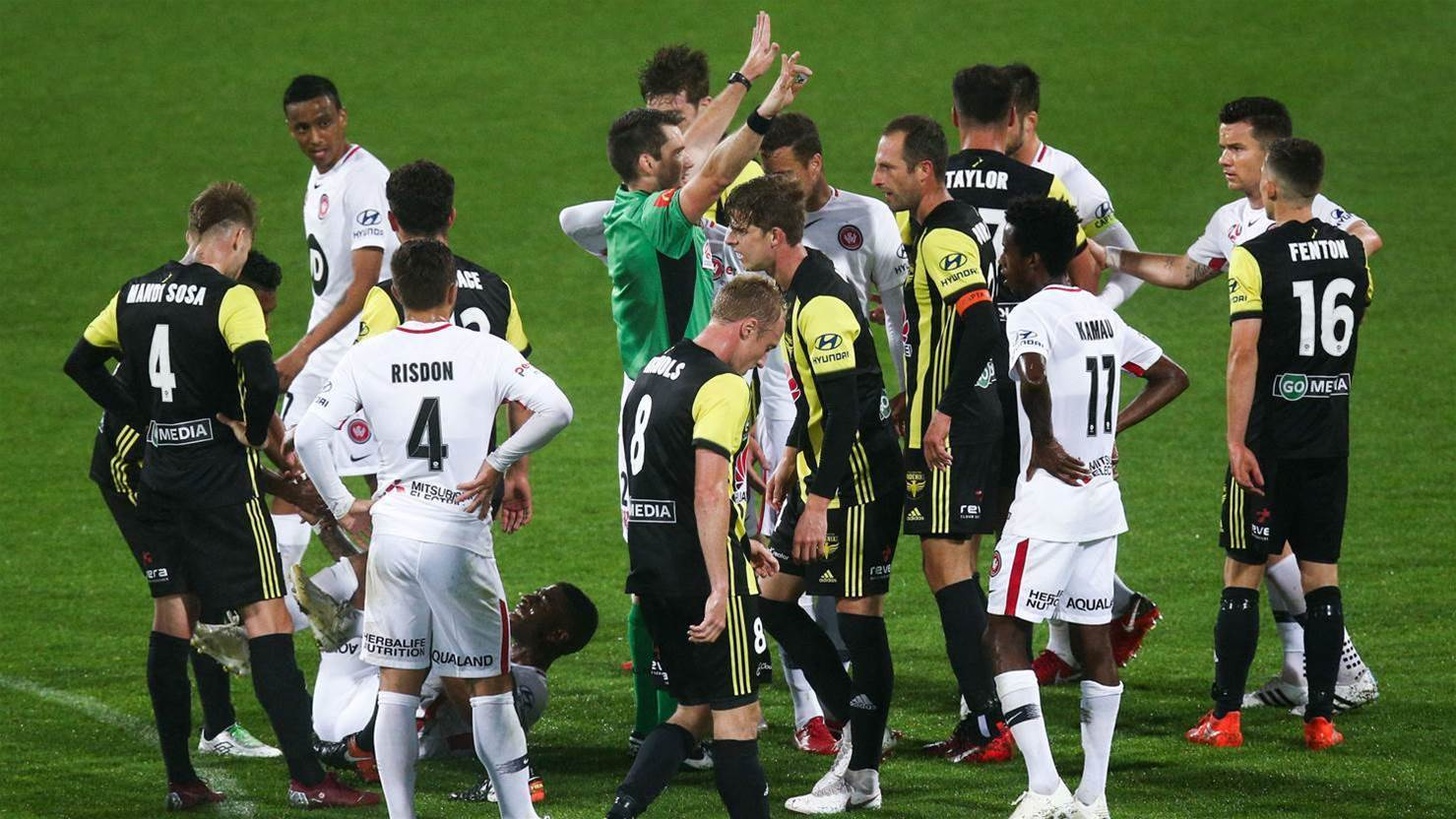 Wellington Phoenix v Western Sydney Wanderers player ratings