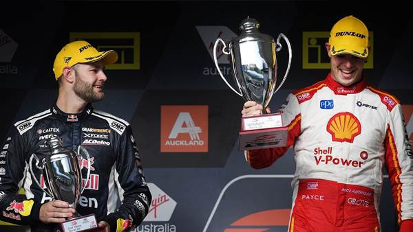 McLaughlin and van Gisbergen share honours in NZ Supercars clash