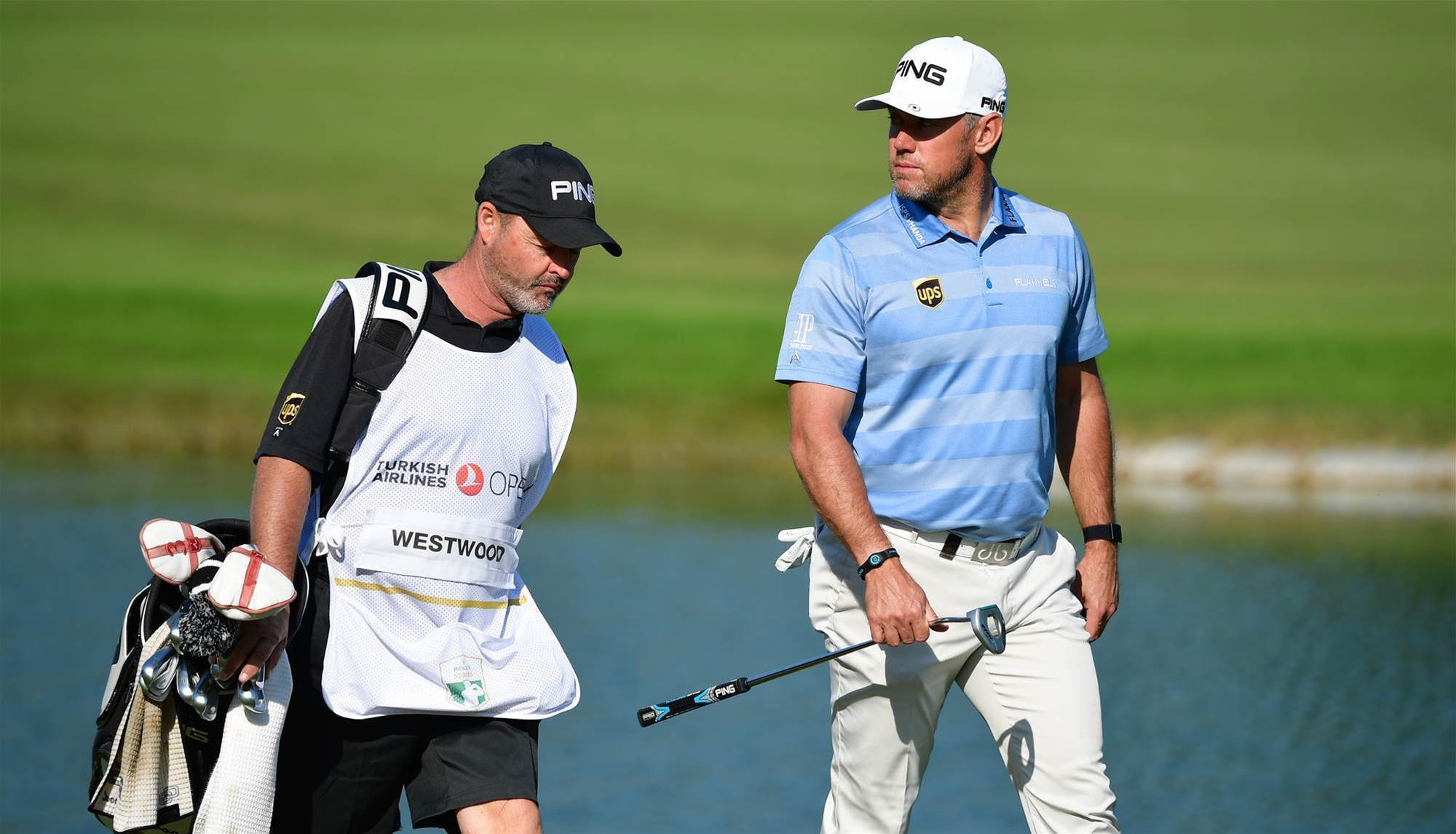 Westwood parts with caddie after 10 years