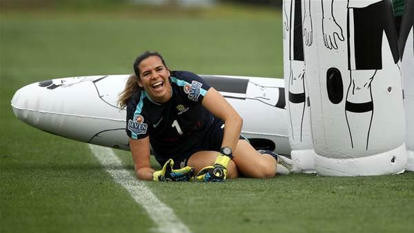 Matildas goalie determined W-League 'more important now than ever'