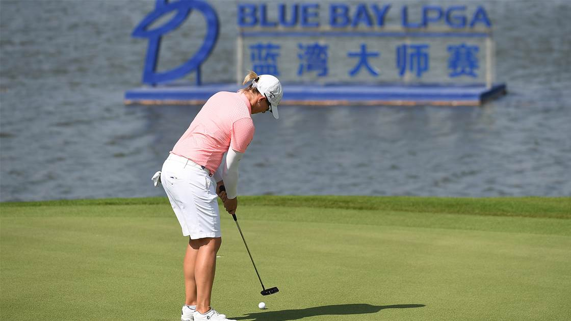 China's Blue Bay LPGA cancelled amid virus