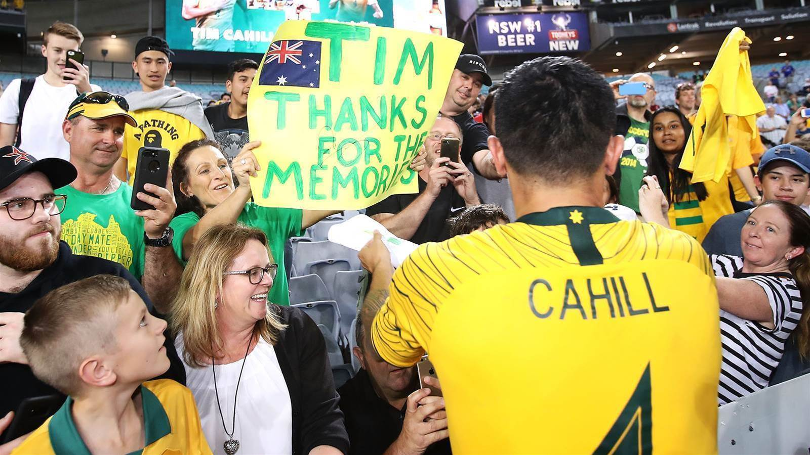 Cahill calls it quits for good