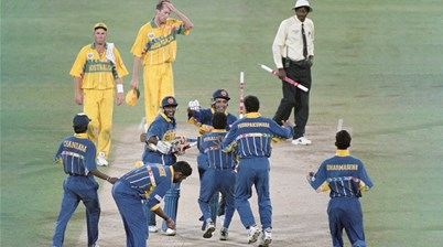 25 years on - The day the tiny island of Sri Lanka was on top of the world