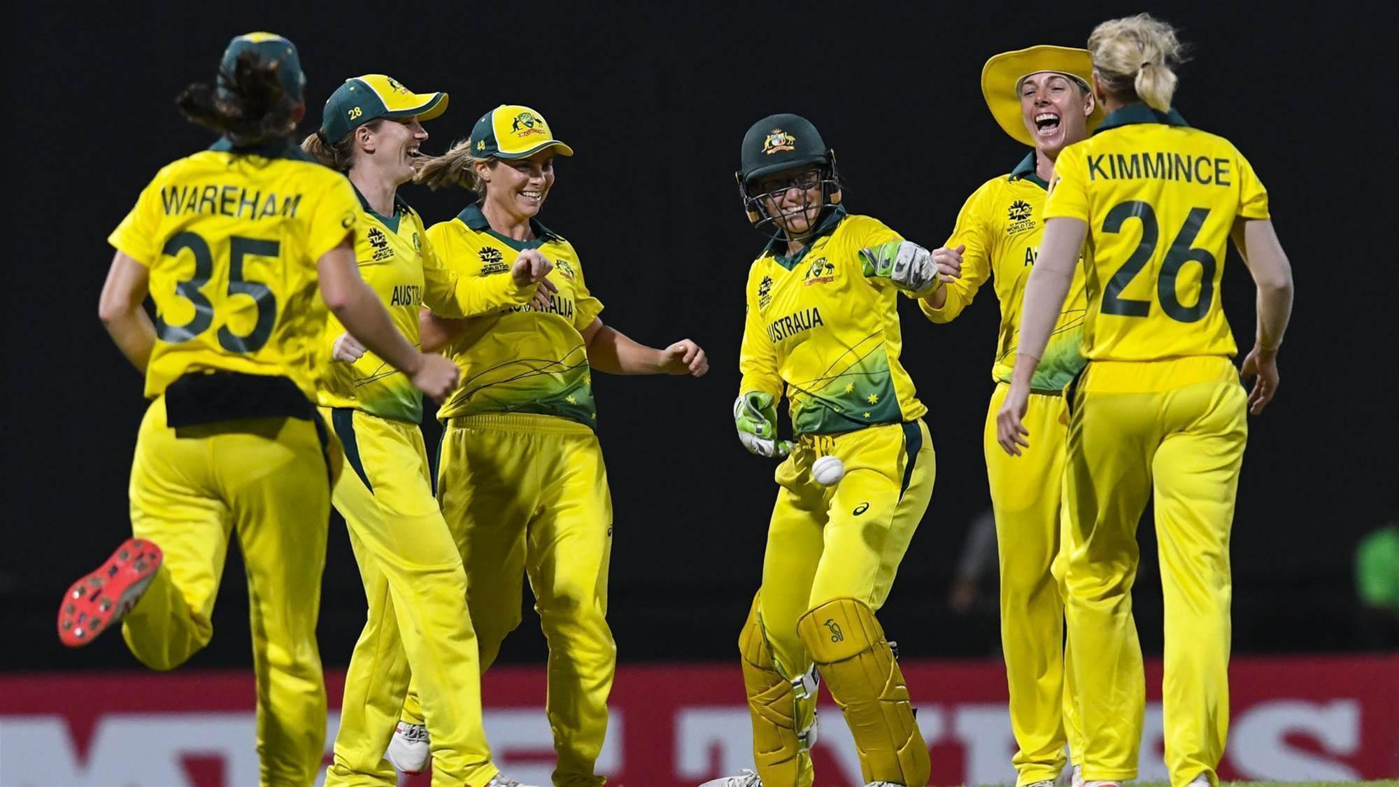Australia book their spot in the World T20 Final