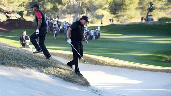 Mickelson to lean on Woods for Cup start