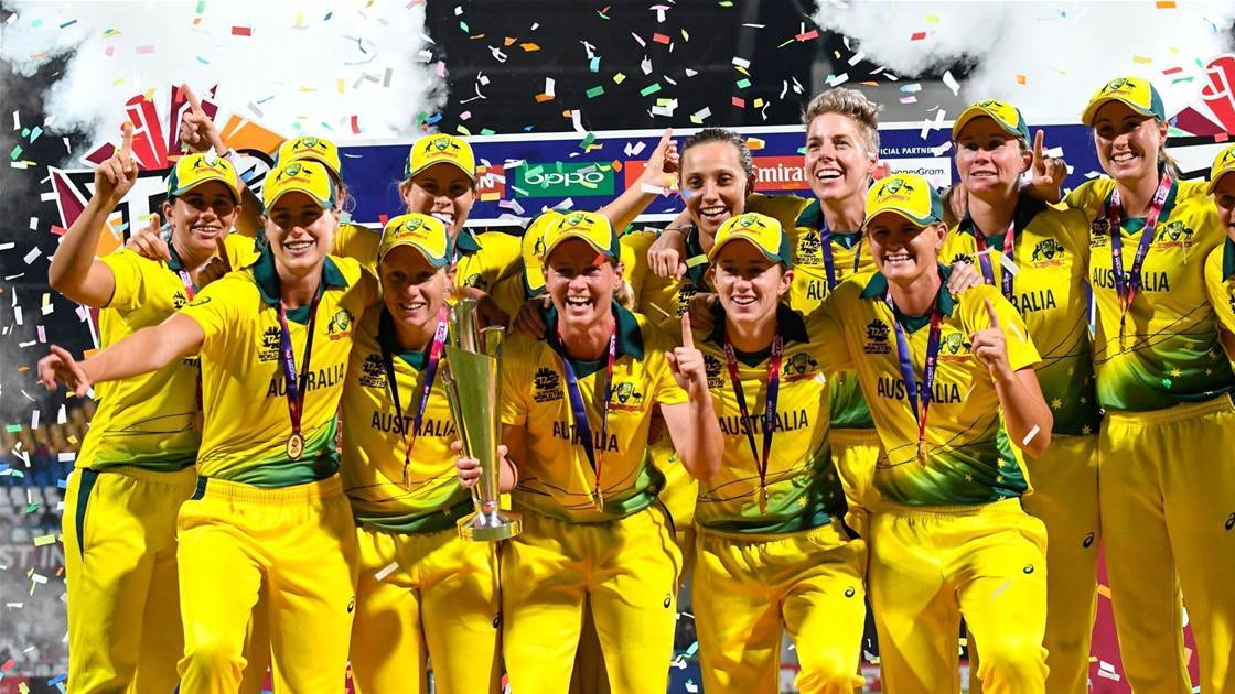 Top moments 2018: World T20 win