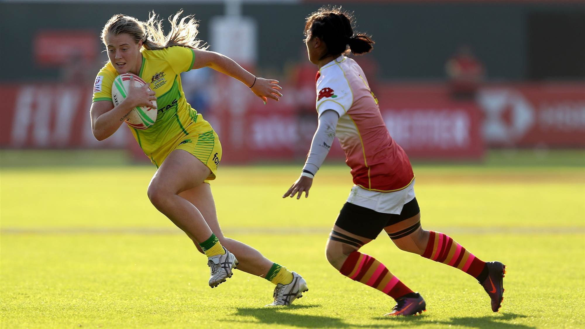 Australia sneak into quarters at Dubai 7s