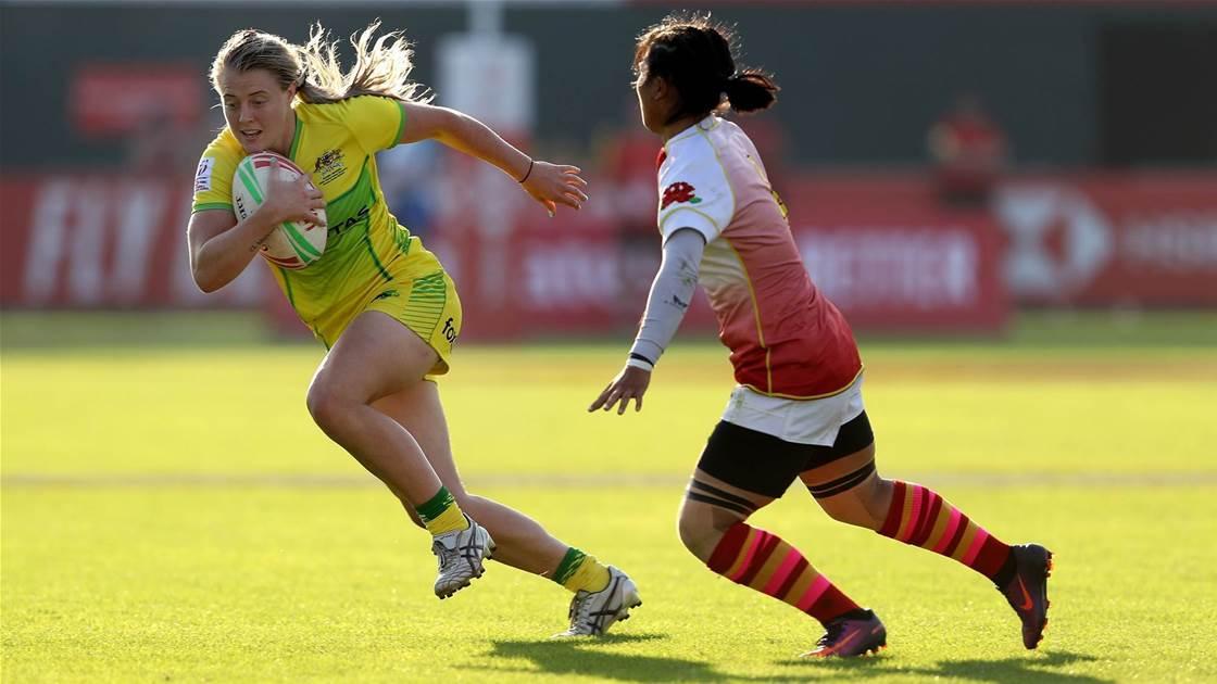 Australia sneak into quarters at Dubai 7s