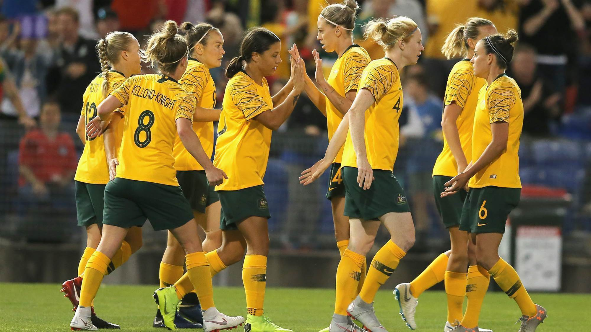 Matildas' 5-star second half
