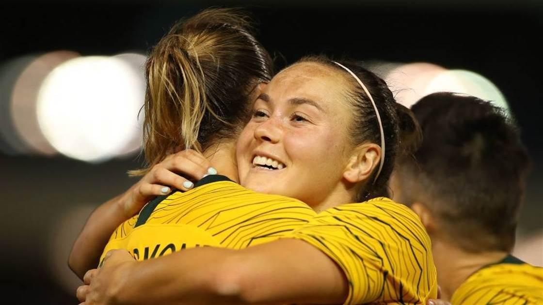 Our favourite Matildas moments: Caitlin Foord