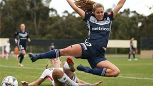 W-League prodigy 'a bit scared' of Matildas camp