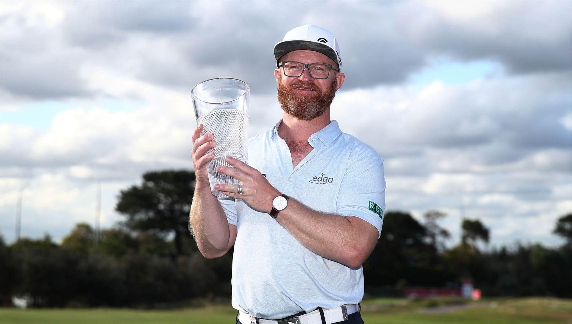 Swede wins world-first golf tournament