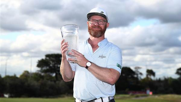 Swede wins world-first golf tournament