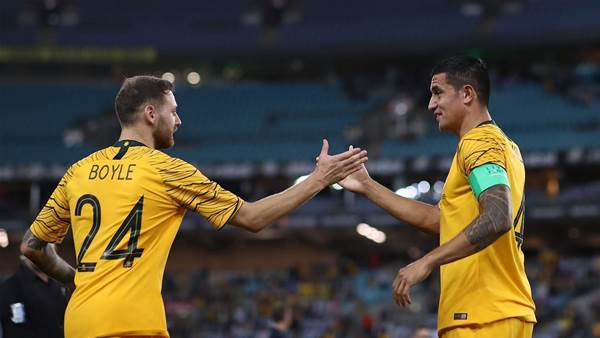 Aloisi: The Socceroos can score goals