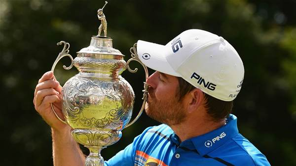Oosthuizen wins the South African Open