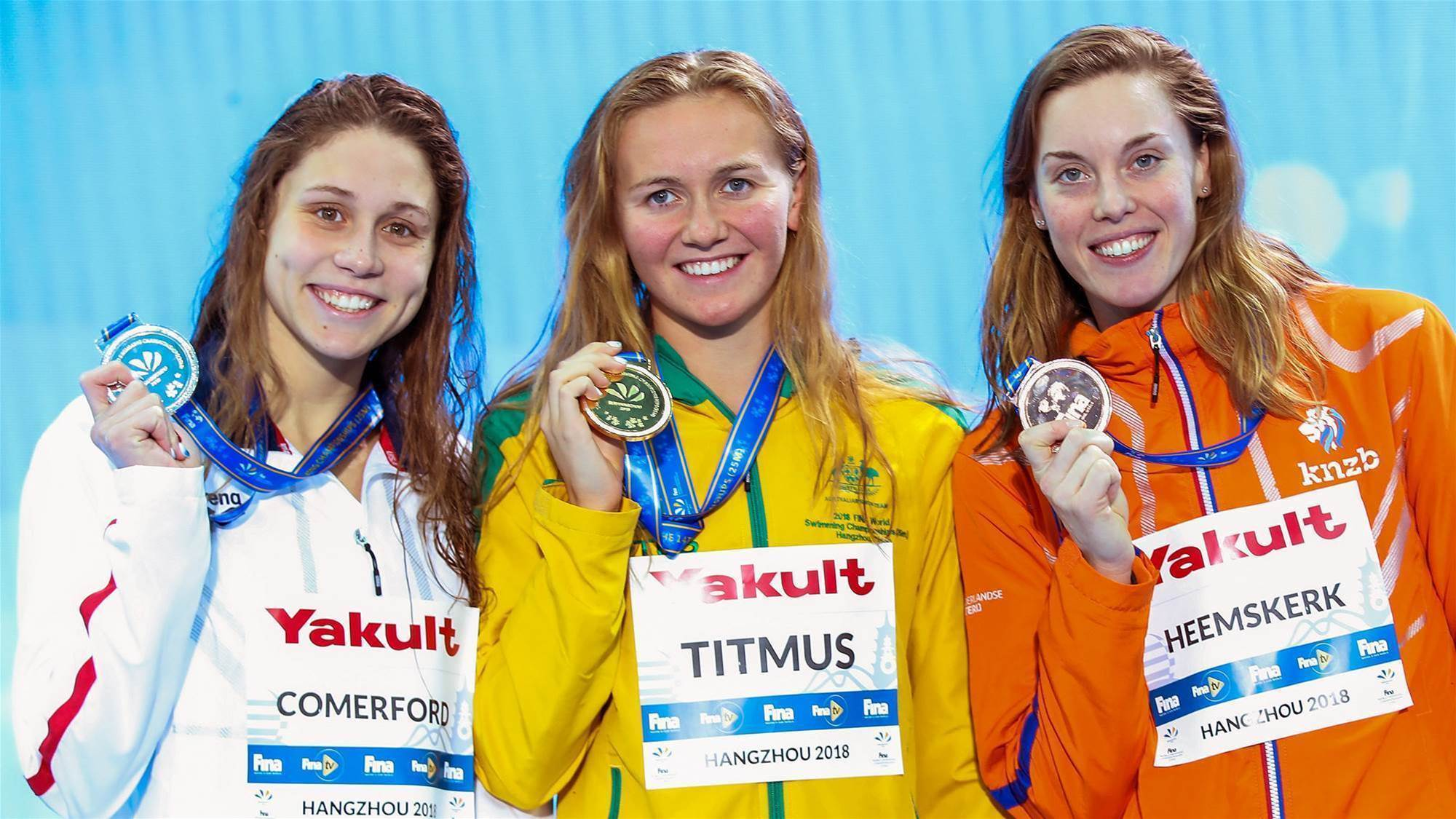 Golden start for Titmus in China
