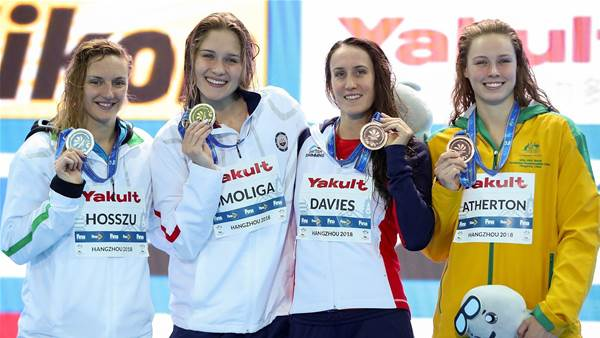 USA shine as Australia picked up bronze