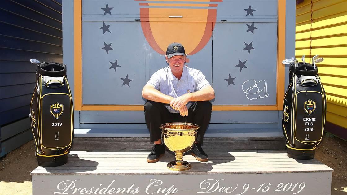 Presidents Cup: 'Get behind us Australia', says captain Els