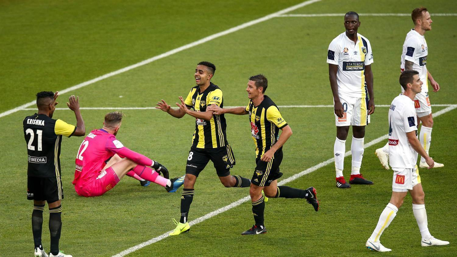 Wellington Phoenix v Central Coast Mariners player ratings