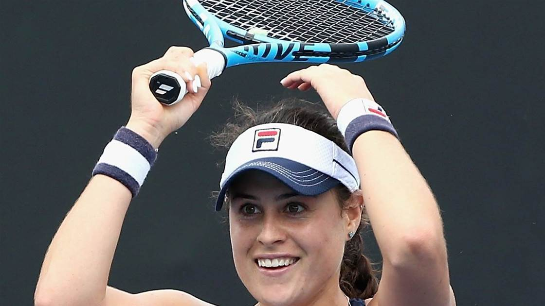 Aussie youngsters cause upsets in Brisbane