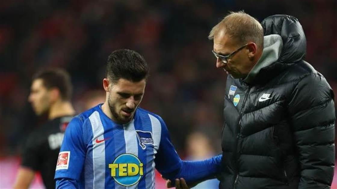 Leckie injured in Bundesliga clash