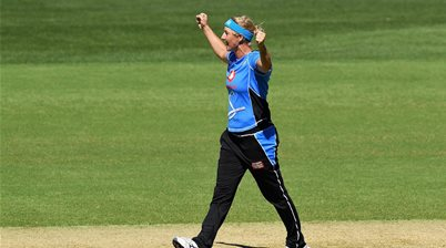WATCH Sophie Devine create WBBL history