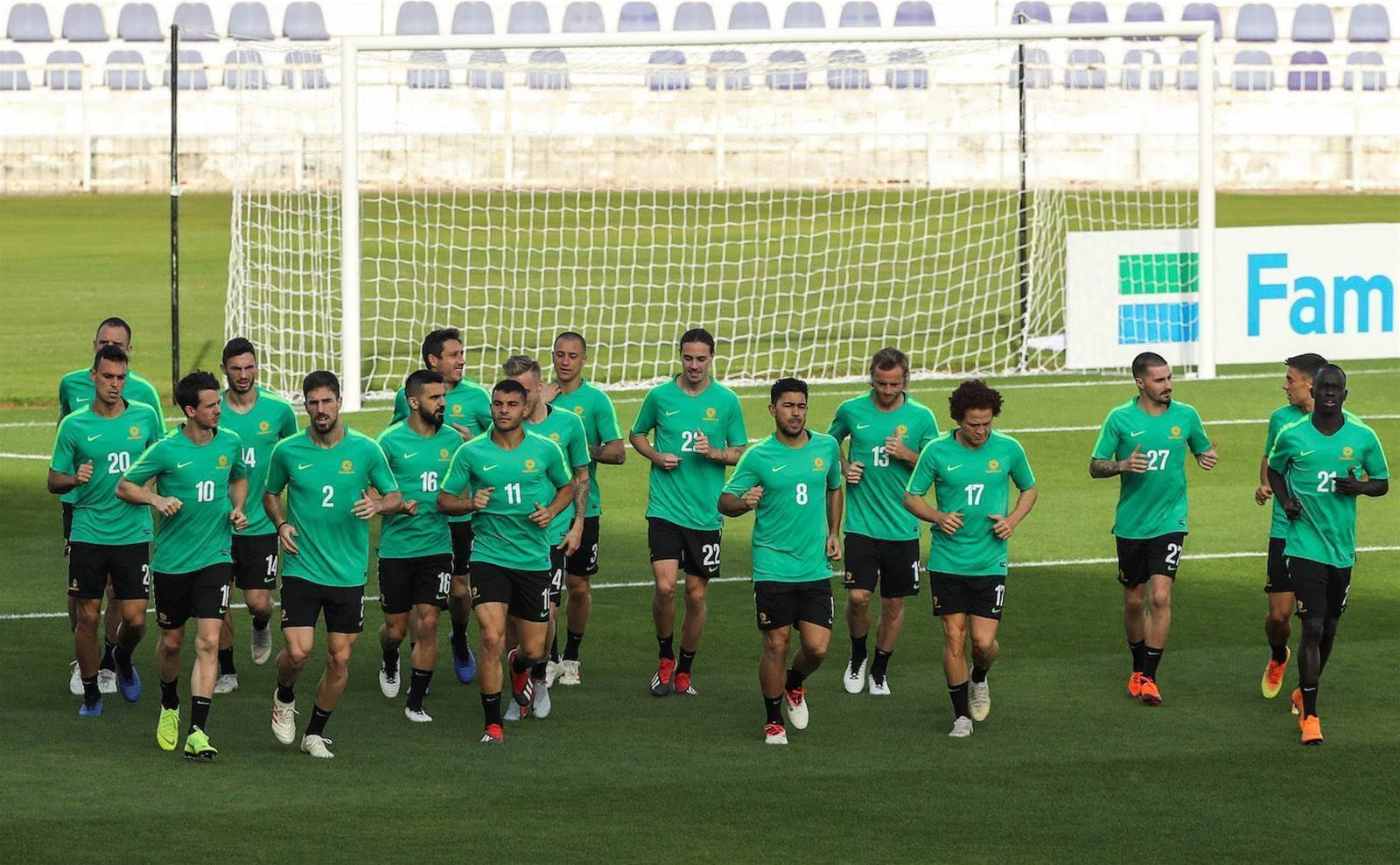 Socceroos hunt for Syria's weak spot