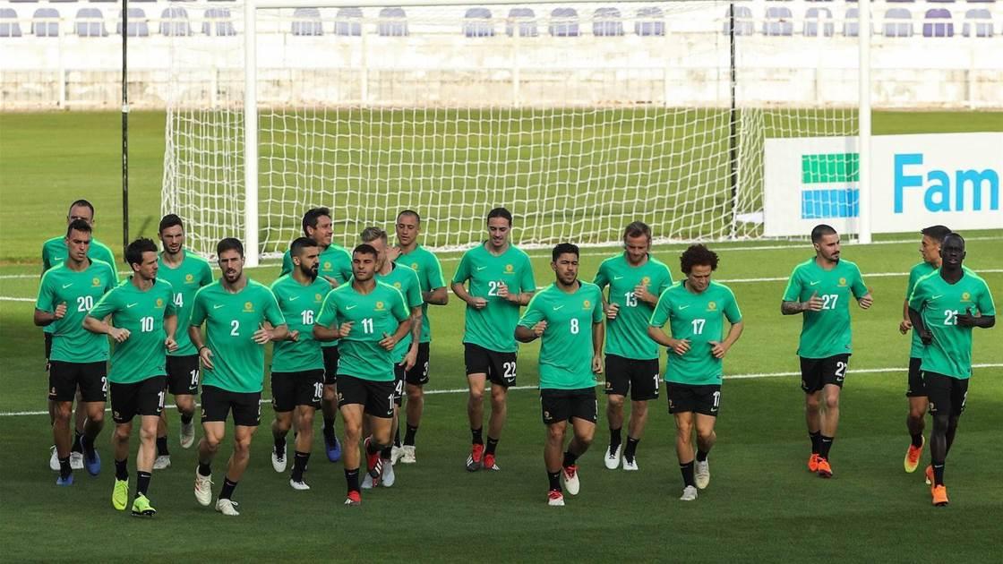 Socceroos hunt for Syria's weak spot