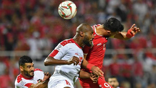 Syria and Palestine play out goalless draw