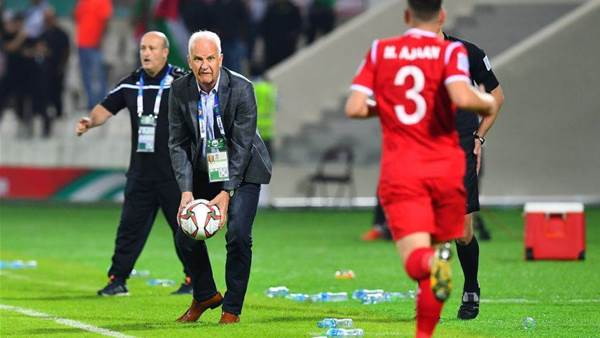 Stange unhappy after Syrian draw