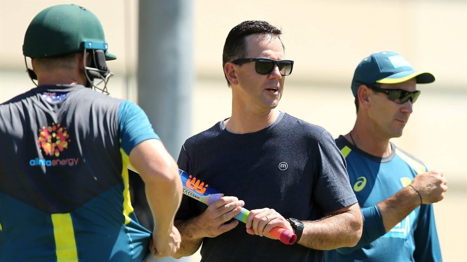 Ponting joins Australian coaching staff
