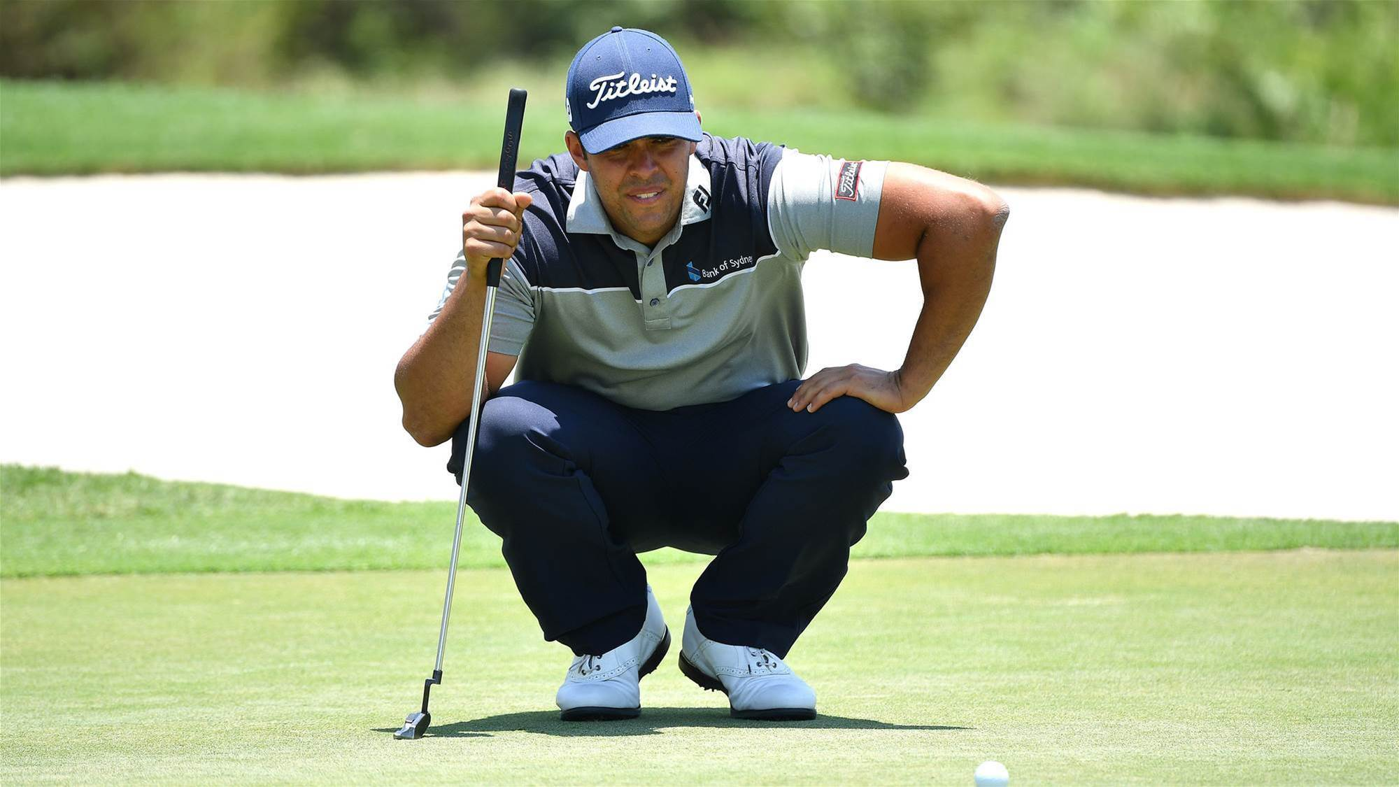 Papadatos sits second at Alfred Dunhill Championship