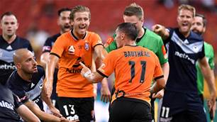 No respect here: A-League refs cover up