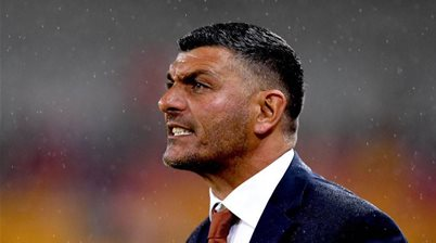 'Confident' Aloisi shuffling a youthful pack