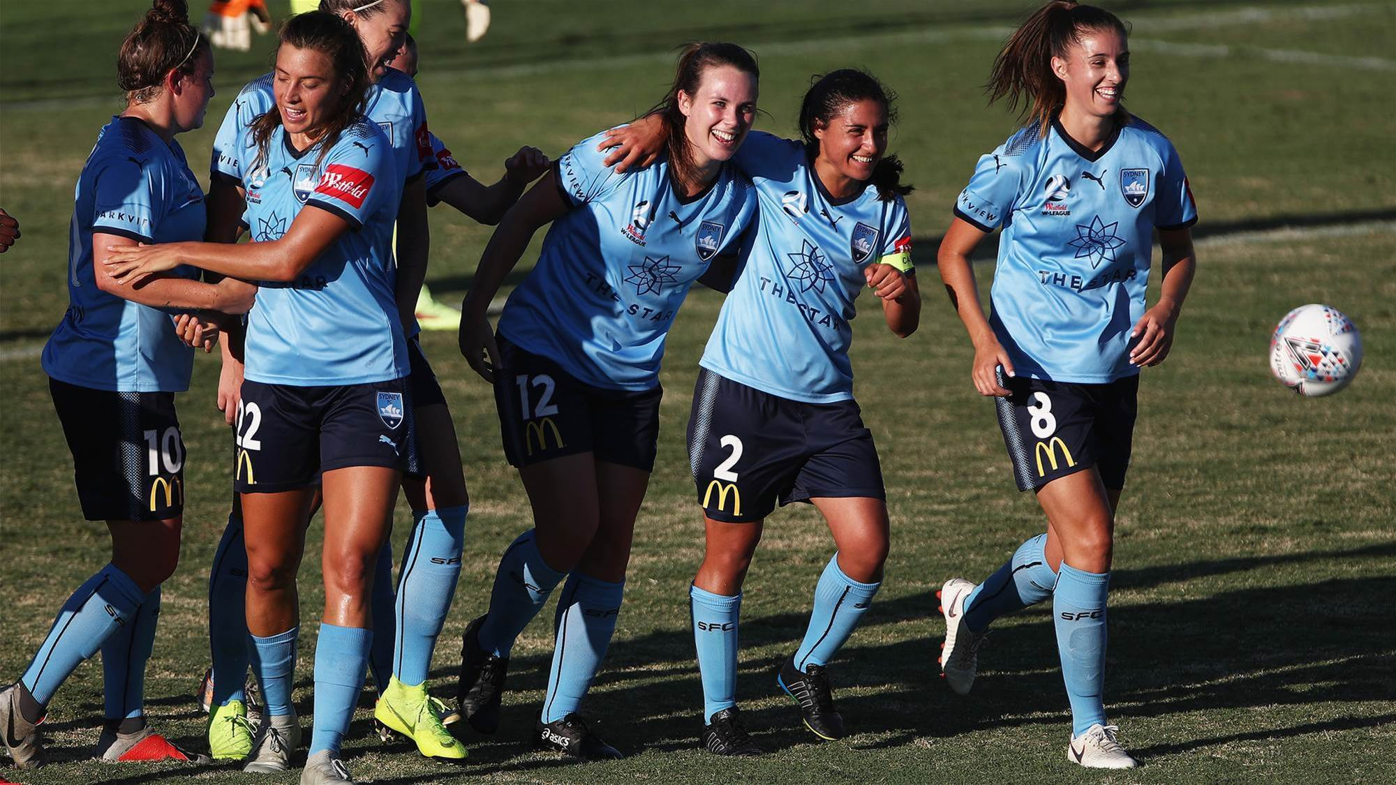 Race for the title heats up with Sky Blues win