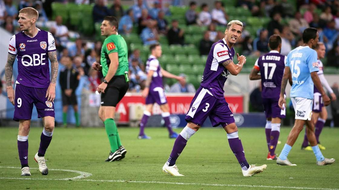 Popovic tells Glory 'embrace' the pressure