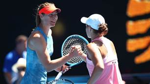It's Barty v Sharapova in huge Cincinatti showdown