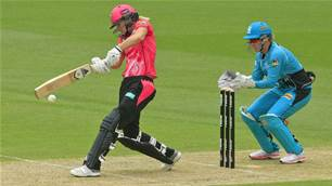 Watch as Ellyse Perry scores a ton