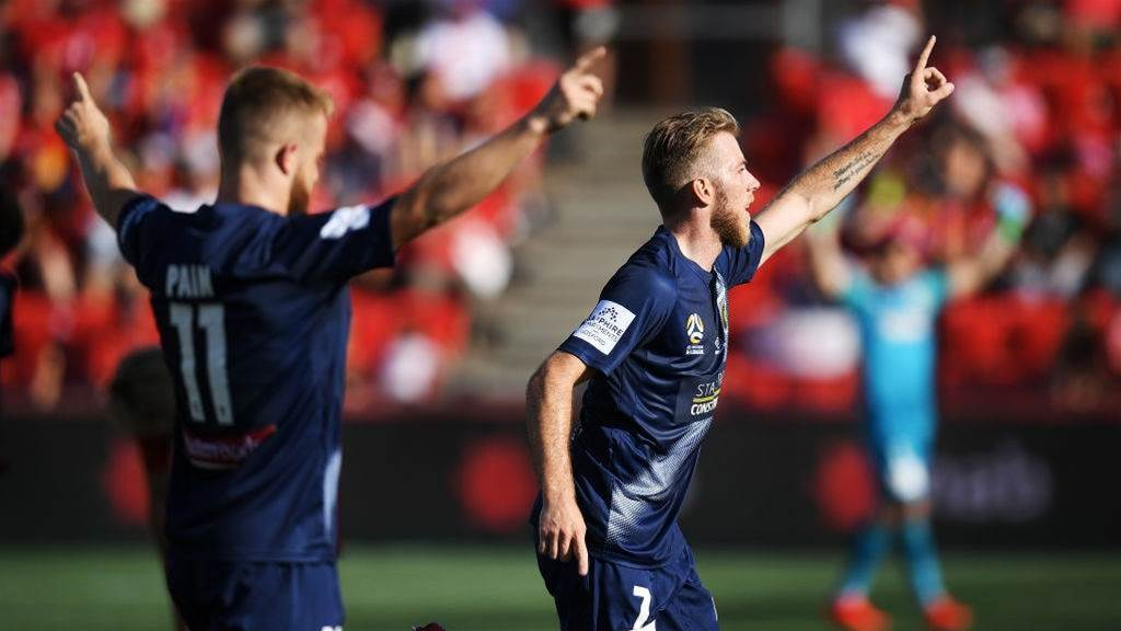 Adelaide United vs Central Coast Mariners Player Ratings