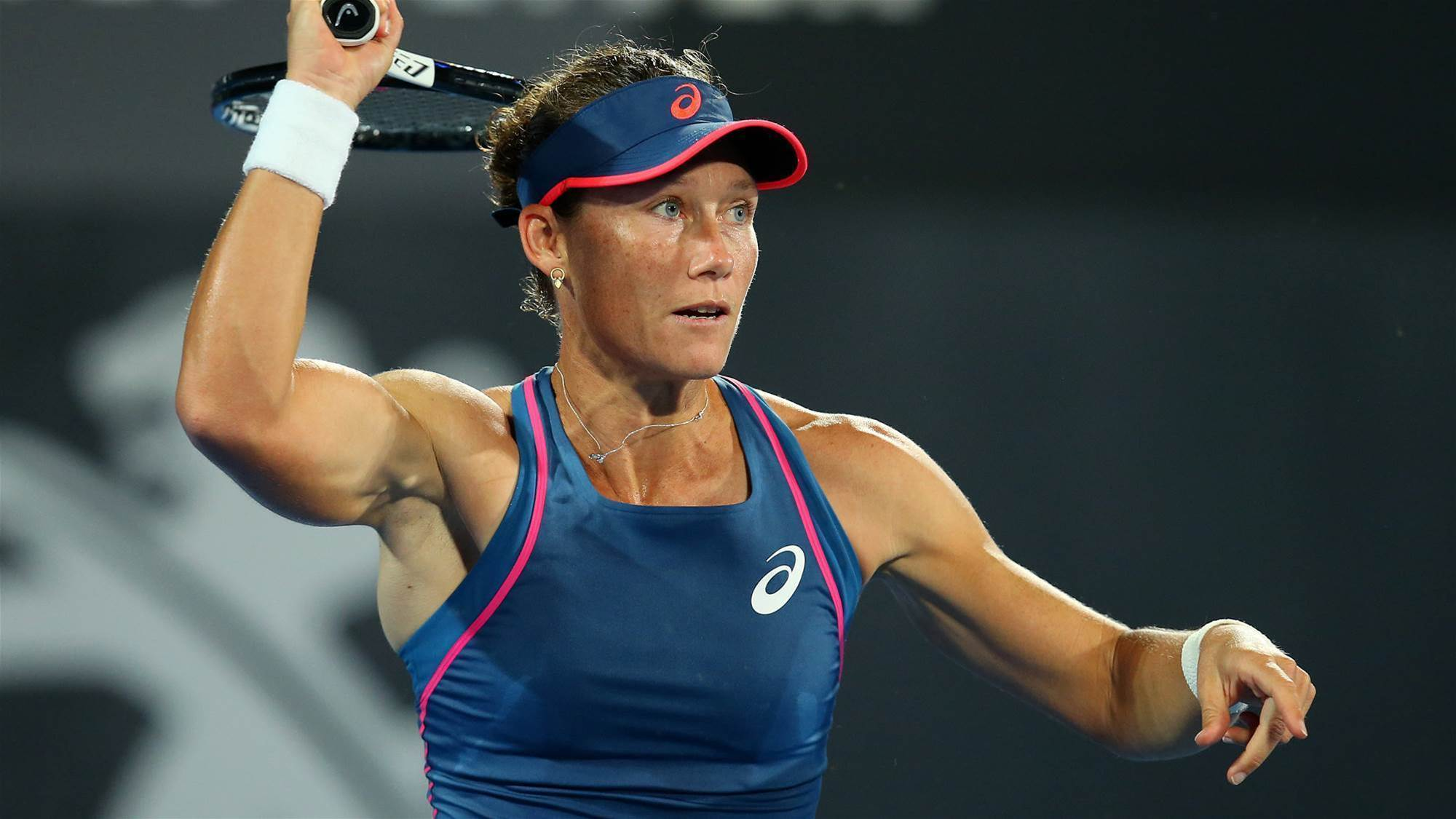 Stosur breaks seven match hoodoo