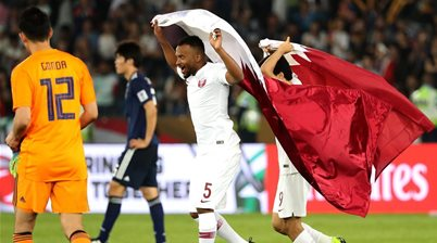Impressive Qatar beat Japan to win Asian Cup