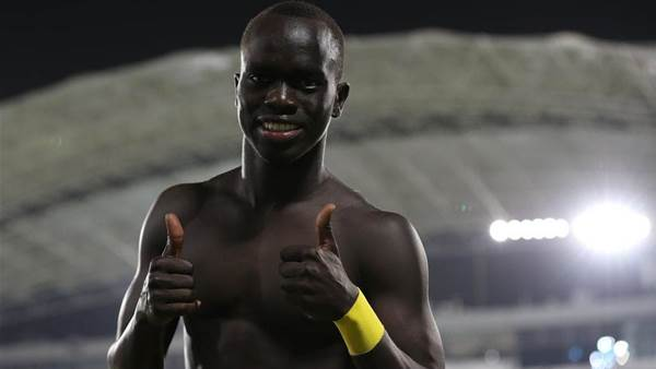 Mabil's mate is all-time striking great