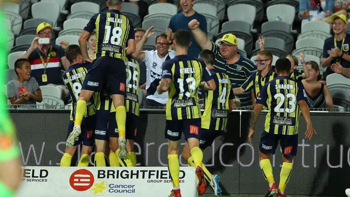 Central Coast Mariners vs Melbourne City player ratings
