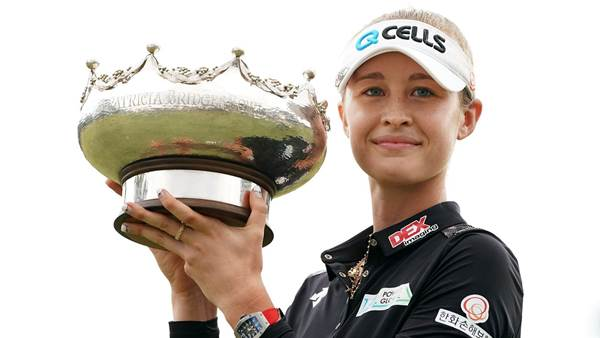 Nerveless Nelly crowned Aussie Open champion