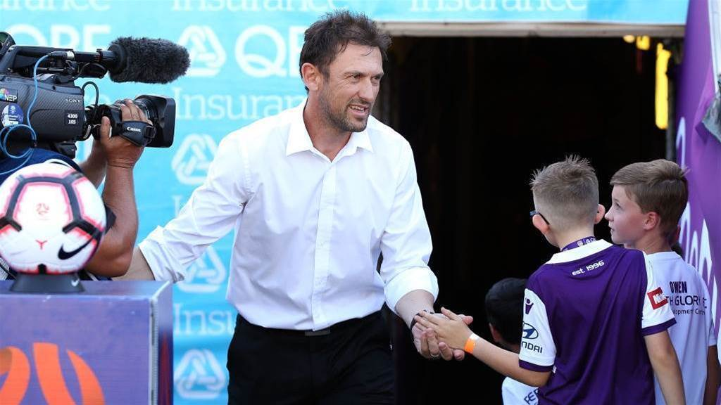 Popovic: 'This is what I love about coaching Perth'