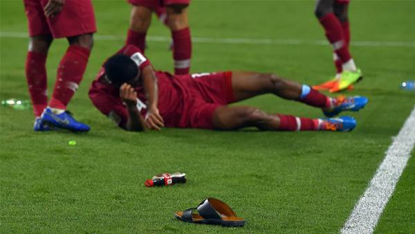 Ugly scenes as Qatar thrash UAE to reach Asian Cup final