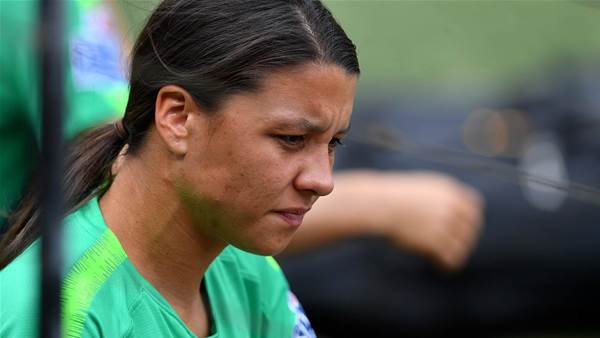 Sam Kerr opens up on brother's battles