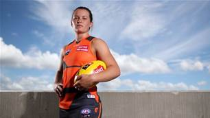 'It has been a good year': GWS Star Alyce Parker
